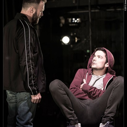 Blair Williams & Paul Dunn in PIG at Buddies in Bad Times Theatre